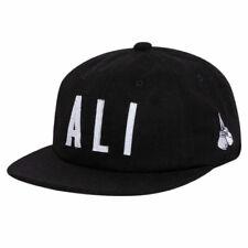 Diamond Supply Co. x Muhammad Ali Men's Signs Strapback Hat Black Cassius Clay H