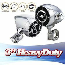 Aluminum Bluetooth MP3 Motorcycle High Output Speaker Stereo System For Harley