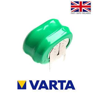 Varta 2/V150H / V150H Ni-MH 2.4V 150mAh Rechargeable 3 Pin Button Cell Battery