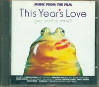 This Year'S Of Love/L' Amore Dell' Anno Ost - Stereophonics/Mercury Rev Cd Vg