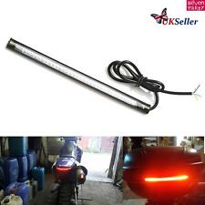 Motorcycle motorbike 32-LED Strip Lights indicators Tail Turn Signal Brake Light
