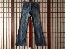 Chip & Pepper Distressed Boot Cut Blue Jean Junior Sze 3 Waist 30 Ins 33 Garment