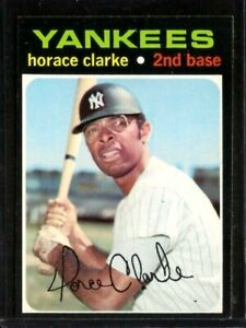 1971 Topps Baseball Set Break #715 Horace Clarke HIGH NUMBER SP