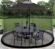 Umbrella Table Screen Cover Mosquito Bug Insect Net Outdoor Patio Picnic Netting