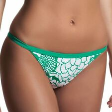 Freya Swimwear Fortune Tab Side Bikini Brief/Bottoms Apple Sour 3038