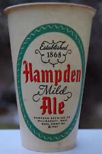 RARE Antique 1947 Hampden Beer Ale Willimansett Mass. Ma. Cup Can Bottle Brewery