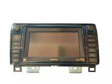 07-09 Toyota Tundra Sequoia Navigation Radio MP3 CD Player LCD Display OEM