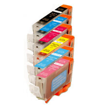 6 PK New Combo Ink Set w/ PC PM for CLI-8 Pixma iP6600D iP6700D