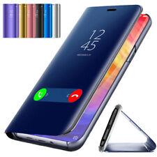 For Xiaomi Mi 9 8 A2 Lite Pocophone F1 Clear View Mirror Smart Flip Case Cover