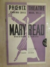 Theatre Programme FLORA ROBSON in  MARY READ