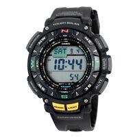 Casio Pro Trek Men's PAG240-1CR Pathfinder Triple Sensor Sport Resin Watch