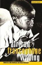 African Francophone Writing: A Critical Introduction