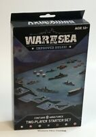 A&A War At Sea Two Player Starter Set READ NEW Axis & Allies Naval Miniatures