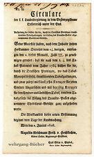 Circular, Verordnung, Juni 1828, Aufhebung von Tabaksgebühren