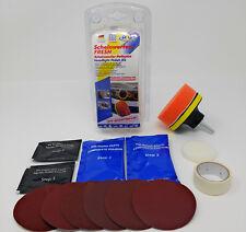 ATG Scheinwerfer-Polierset Aufbereitung Erneuerung entfernt Schlieren Kratzer