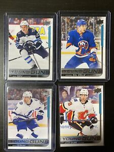 18-19 UD Young Guns Lot Of 8 Niku, Dal Colle, Lindblom & More
