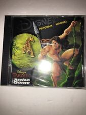 Disney's Tarzan Action Game PC CD ROM-NEW-RARE VINTAGE COLLECTIBLE-SHIPS N 24 HR