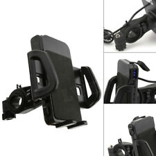 USB Charger GPS Cell Phone Holder for Honda Gold Wing Valkyrie Rune GL 1500 1800