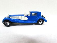 Vintage Tomy Tomica Bugatti Coupe De Ville Blue Car Japan 1978