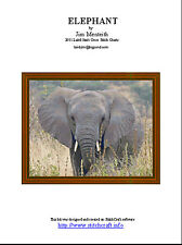 ELEPHANT - cross stitch chart