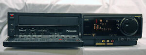 AG-1980P Panasonic VHS/SVHS Recorder Player w/TBC- Excellent Operating Condition