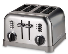 4-Slice Stainless Steel Toaster NEW
