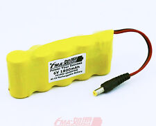 Ni-Cd Battery Sub C 6V 1800mAh for Hedge Trimmer Emergency Light DC5521 5SB US