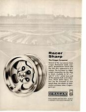 1970 CRAGAR SCREAMER WHEEL  ~  CLASSIC ORIGINAL PRINT AD