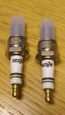 Zodiac  Accel Harley High Performance U-Groove Pair Spark Plugs #2410A BC22565 T