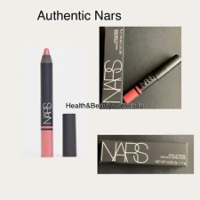 Genuine NARS Satin Lip Pencil 1.7g Exbury light rose pink long lasting hydrades