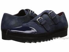 Vivienne Westwood Navy Monk Shoes UK9 EU43 US10, RRP425GBP