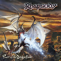 RHAPSODY - Power Of The Dragonflame 2LP Vinyl Pic Disc 2002 Luca Turilli Angra