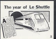 Headline Postcard - Trains - Eurostar - The Year of Le Shuttle RR2652