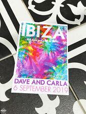 Ibiza Wedding Invitations (Sample Pack) - Ibiza Wedding Invites - Ibiza Bride