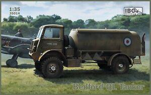 IBG 35014 Model kit 1/35 Bedford QL Petrol Tanker