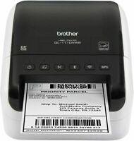Brother QL-1110NWB Professional Thermal Desktop Label Printer - White/Black