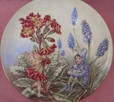THE POLYANTHUS FAIRY PLATE CICELY MARY BARKER THE FESTIVAL OF FLOWER FAIRIES