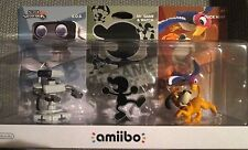 Smash Bros. Amiibo Retro 3-Pack R.O.B./ROB, Mr. Game & Watch, and Duck Hunt