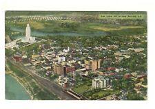 1954 PC: Aerial View of Baton Rouge, LA