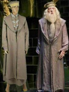 New ! Albus Dumbledore Cosplay Costume include hat