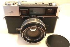 "35mm Camera B/A Auto-EE 1.8"" w/ Nichimen Supernar 45mm lens cap & case o"