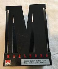 Marlboro Cigarettes Collectible Container Bar Ware