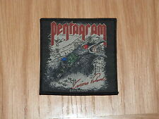 PENTAGRAM - CURIOUS VOLUME (NEW) SEW ON W-PATCH OFFICIAL BAND MERCHANDISE