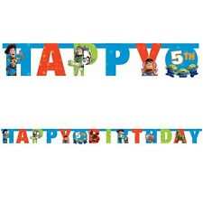 Party Supplies Birthday Toy Story Letter Age Banner