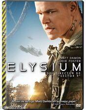 ELYSIUM DVD NUEVO ( SIN ABRIR ) MATT DAMON Y JODIE FOSTER