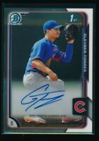GLEYBER TORRES AUTO 1st 2015 Bowman Chrome Autograph NY Yankees Rookie Card RC