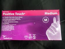 Cardinal Health Positive Touch Latex Medical Exam Glove Powder Free Disposable
