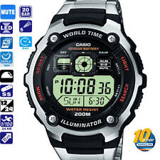 Casio diver steel watch immersione plongeé tauchen reloj orologio g shock montre