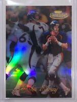 1998 Topps Gold Label John Elway #1 Football Card HOF Broncos Class 1 Black