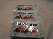 THE BIG BANG THEORY SEASON 3 & 4, LOT OF 30 SEALED PACKS